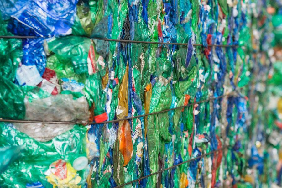 processo di riciclo plastica